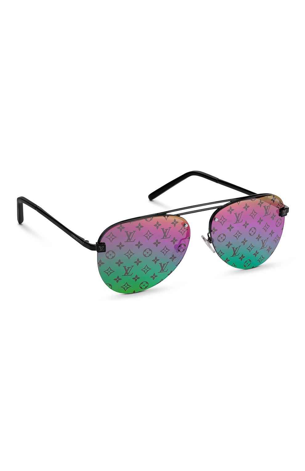Мужские солнцезащитные очки clockwise LOUIS VUITTON разноцветного цвета, арт. Z1340W | Фото 1