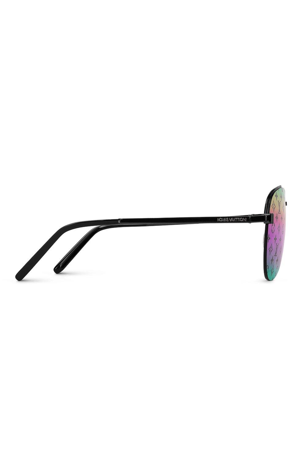 Мужские солнцезащитные очки clockwise LOUIS VUITTON разноцветного цвета, арт. Z1340W | Фото 2