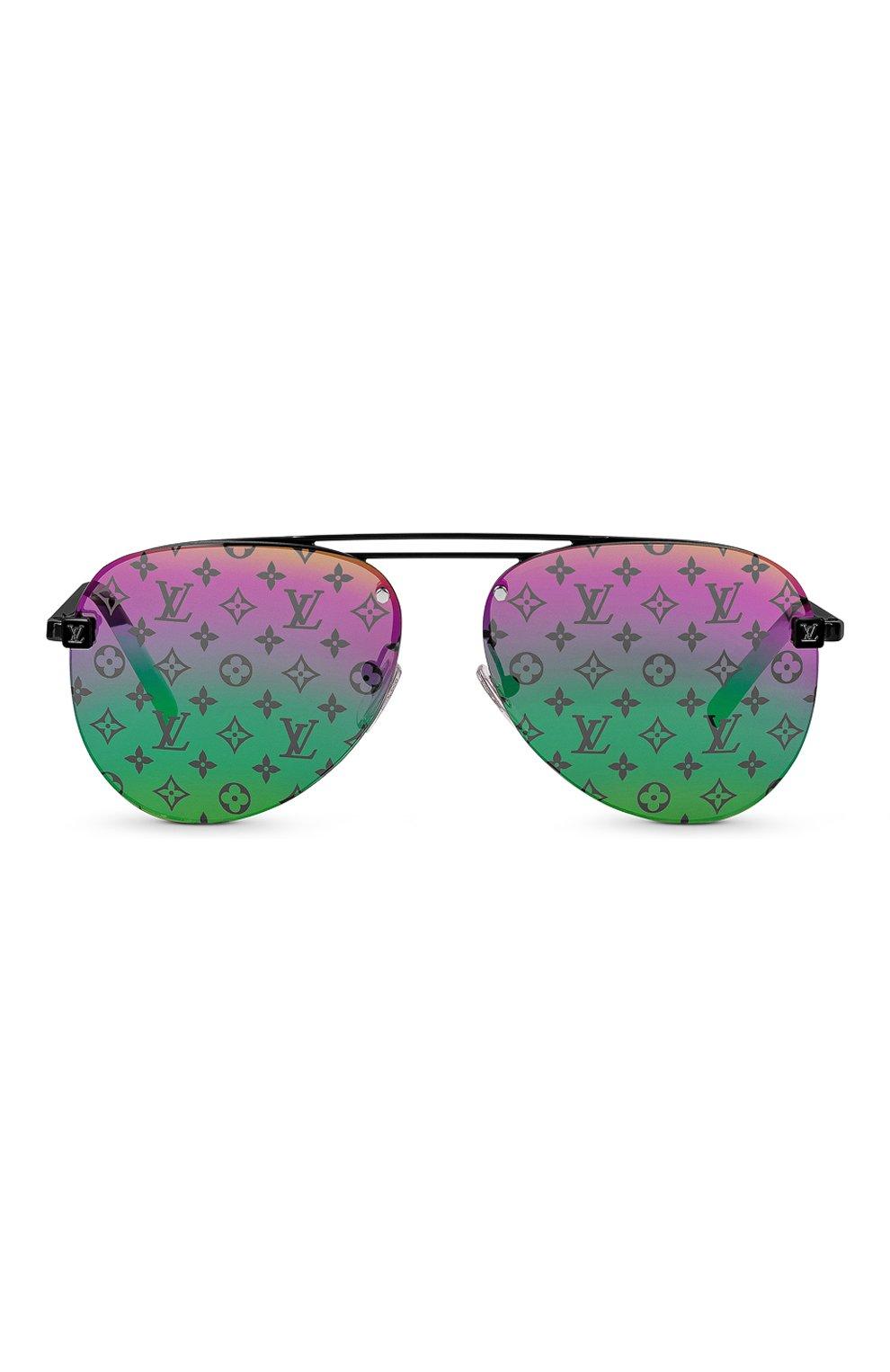 Мужские солнцезащитные очки clockwise LOUIS VUITTON разноцветного цвета, арт. Z1340W | Фото 3