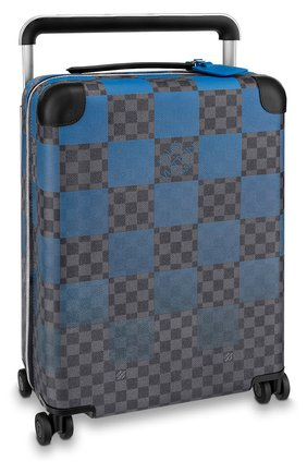 Мужской дорожный чемодан horizon 55 LOUIS VUITTON синего цвета, арт. N20021 | Фото 1