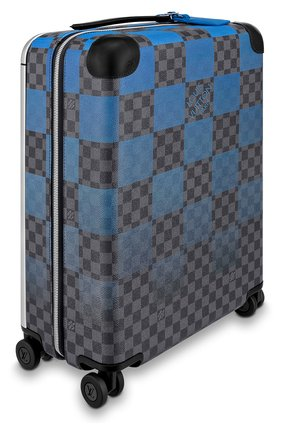 Мужской дорожный чемодан horizon 55 LOUIS VUITTON синего цвета, арт. N20021 | Фото 2