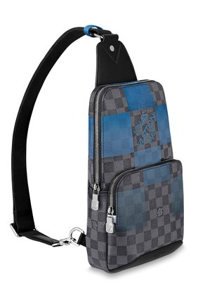 Мужской сумка-слинг avenue LOUIS VUITTON синего цвета, арт. N40404 | Фото 2