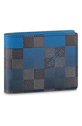 Мужской портмоне multiple LOUIS VUITTON синего цвета, арт. N40414 | Фото 1