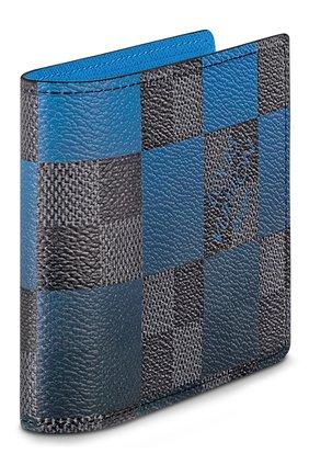 Мужской портмоне multiple LOUIS VUITTON синего цвета, арт. N40414 | Фото 2