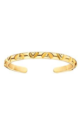 Мужской золотой браслет lv volt LOUIS VUITTON золотого цвета, арт. Q95954 | Фото 1