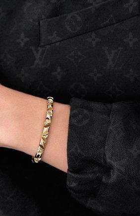 Мужской золотой браслет lv volt LOUIS VUITTON золотого цвета, арт. Q95954 | Фото 2