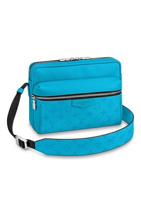 Мужская сумка outdoor LOUIS VUITTON голубого цвета, арт. M30429   Фото 1