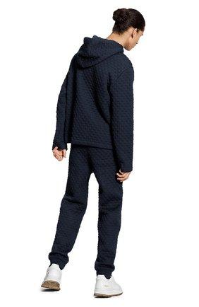 Мужской хлопковая толстовка LOUIS VUITTON темно-синего цвета, арт. 1A7X68   Фото 3 (Мужское Кросс-КТ: Толстовка-одежда; Материал внешний: Хлопок; Стили: Кэжуэл)