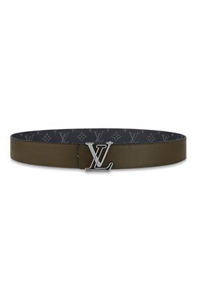 Мужской двусторонний ремень lv line LOUIS VUITTON серого цвета, арт. M0252T | Фото 2