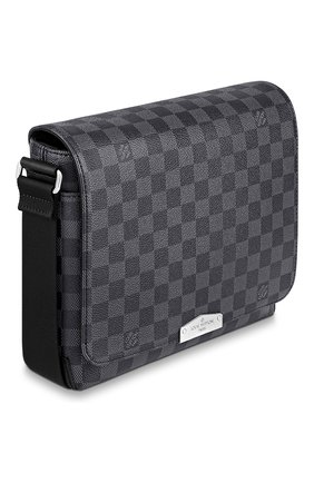 Мужская сумка district pm LOUIS VUITTON темно-серого цвета, арт. N40349 | Фото 2 (Материал: Натуральная кожа)