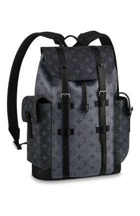 Мужской рюкзак christopher LOUIS VUITTON серого цвета, арт. M45419 | Фото 1
