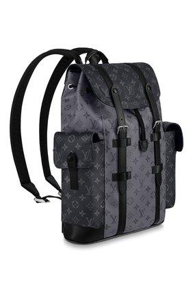 Мужской рюкзак christopher LOUIS VUITTON серого цвета, арт. M45419 | Фото 2