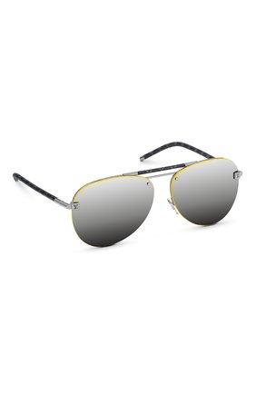 Мужские солнцезащитные очки clockwise LOUIS VUITTON серого цвета, арт. Z1331E | Фото 1