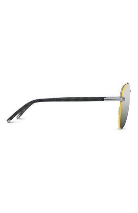 Мужские солнцезащитные очки clockwise LOUIS VUITTON серого цвета, арт. Z1331E | Фото 2