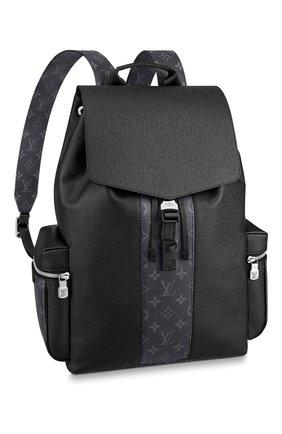 Мужской рюкзак outdoor LOUIS VUITTON черного цвета, арт. M30417 | Фото 1