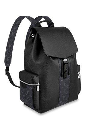 Мужской рюкзак outdoor LOUIS VUITTON черного цвета, арт. M30417 | Фото 2