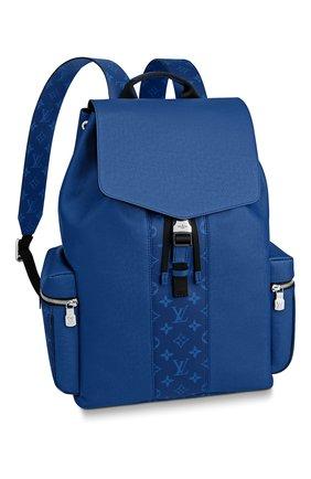 Мужской рюкзак outdoor LOUIS VUITTON синего цвета, арт. M30419 | Фото 1