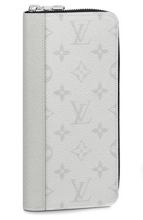 Мужской портмоне zippy vertical LOUIS VUITTON белого цвета, арт. M30446 | Фото 1