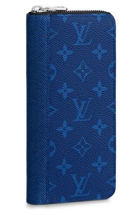 Мужской портмоне zippy vertical LOUIS VUITTON синего цвета, арт. M30447   Фото 1