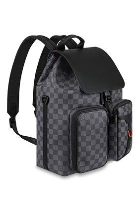 Мужской рюкзак utility LOUIS VUITTON серого цвета, арт. N40279 | Фото 2