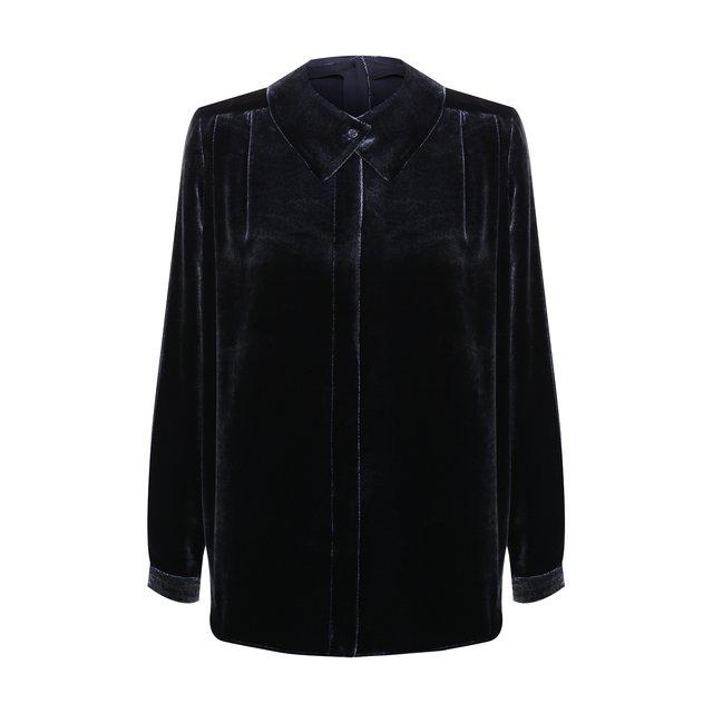 Бархатная блузка Giorgio Armani