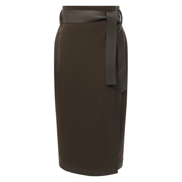 Шерстяная юбка Tom Ford