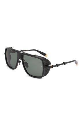 Женские солнцезащитные очки BALMAIN черного цвета, арт. BPS-104C-59 | Фото 1
