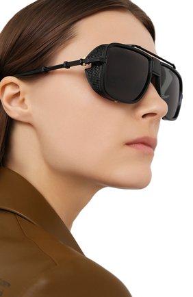 Женские солнцезащитные очки BALMAIN черного цвета, арт. BPS-104C-59 | Фото 2