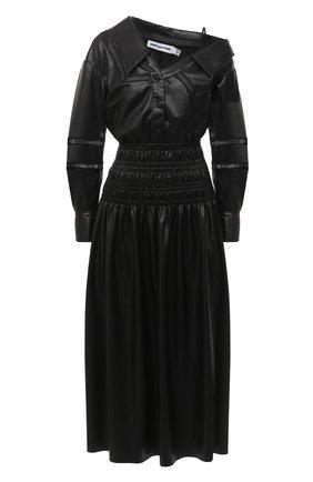 Женское платье SELF-PORTRAIT черного цвета, арт. AW20-069 | Фото 1