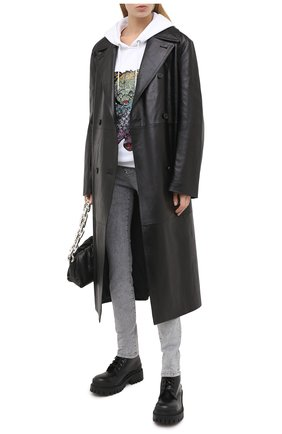 Женские джинсы PHILIPP PLEIN серого цвета, арт. F20C WDT1421 PDE004N | Фото 2