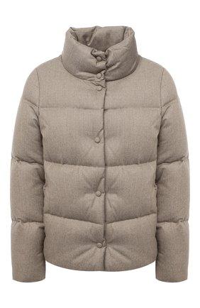 Женский пуховая куртка ADD бежевого цвета, арт. 2AWA60 | Фото 1