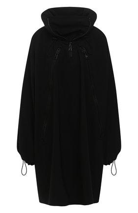 Женский плащ BOTTEGA VENETA черного цвета, арт. 644979/V02Q0   Фото 1