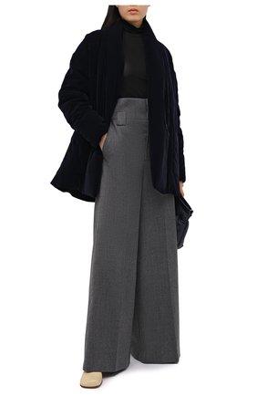 Женская куртка ICEBERG темно-синего цвета, арт. 20I I2P0/J021/5A44 | Фото 2