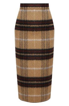 Женская юбка N21 коричневого цвета, арт. 20I N2S0/C012/3015 | Фото 1