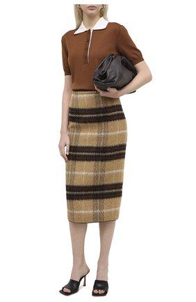 Женская юбка N21 коричневого цвета, арт. 20I N2S0/C012/3015 | Фото 2