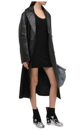 Женское платье из вискозы OFF-WHITE черного цвета, арт. 0WHI033E20KNI0011000 | Фото 2