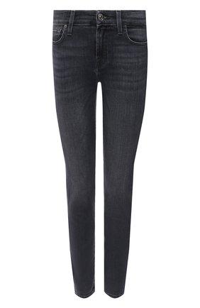 Женские джинсы 7 FOR ALL MANKIND серого цвета, арт. JSWTR850SL | Фото 1