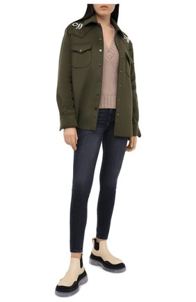 Женские джинсы 7 FOR ALL MANKIND серого цвета, арт. JSWTR850SL | Фото 2