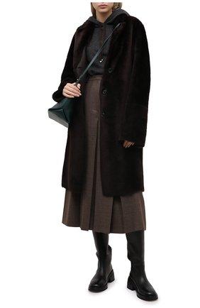 Женская дубленка JOSEPH коричневого цвета, арт. JF004964 | Фото 2
