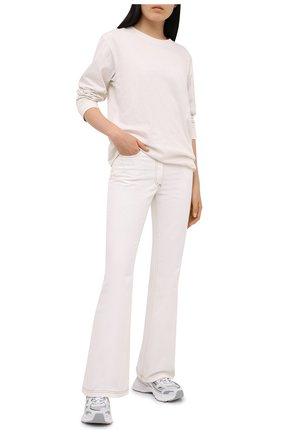Женская хлопковый лонгслив ALEXANDERWANG.T белого цвета, арт. 4CC1201151 | Фото 2
