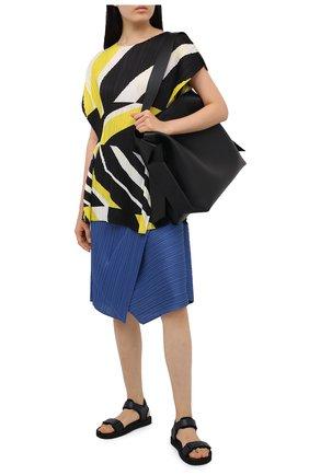 Женская топ ISSEY MIYAKE желтого цвета, арт. PP08-JT752 | Фото 2