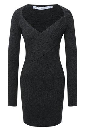 Женское шерстяное платье IRO темно-серого цвета, арт. WM33ALEXA | Фото 1