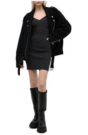 Женское шерстяное платье IRO темно-серого цвета, арт. WM33ALEXA | Фото 2