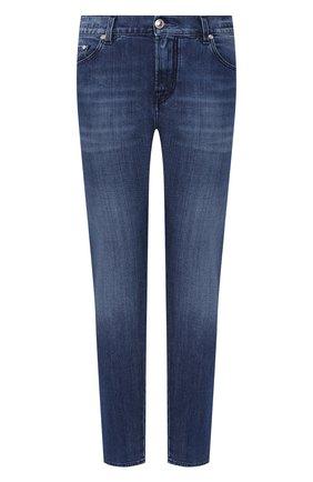 Женские джинсы JACOB COHEN синего цвета, арт. KIMBERLY CR0P LTD 01904-W1/54 | Фото 1