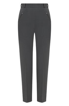 Женские брюки MAISON MARGIELA темно-серого цвета, арт. S29KA0352/S48600   Фото 1