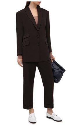 Женский шерстяной жакет MAISON MARGIELA коричневого цвета, арт. S51BN0380/S53202   Фото 2