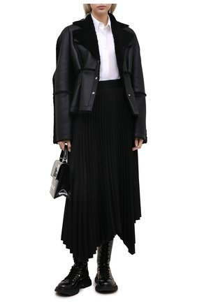 Женская дубленка ANNE VEST черного цвета, арт. AW20/01/305/01/ENTREFIN0 | Фото 2