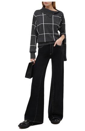 Женский кашемировый свитер ELEVENTY серого цвета, арт. B86MAGB19 TCH0B001   Фото 2