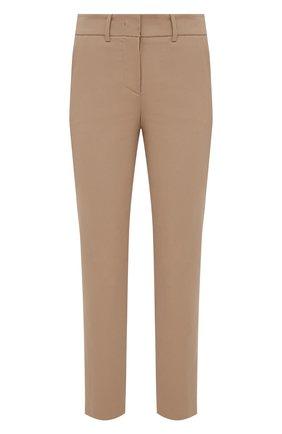 Женские хлопковые брюки ELEVENTY бежевого цвета, арт. B80PANB09 TES0B146 | Фото 1