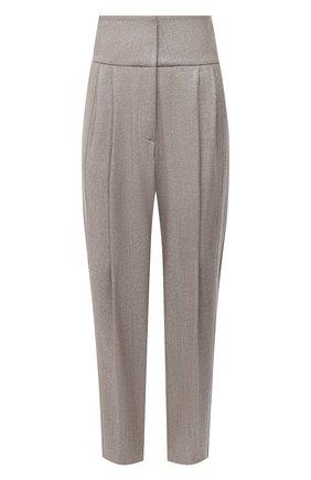 Женские шерстяные брюки ELEVENTY бежевого цвета, арт. B80PANB02 TES0B007 | Фото 1